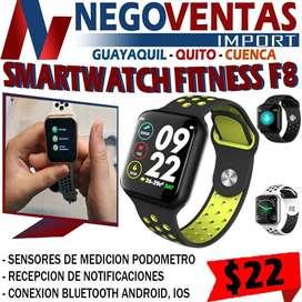 SMARTWATCH FITNESS F8 EN DESCUENTO EXCLUSIVO DE NEGOVENTAS