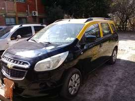 Vendo Taxi Chevrolet Spin 1.8 Lt 5as 105cv