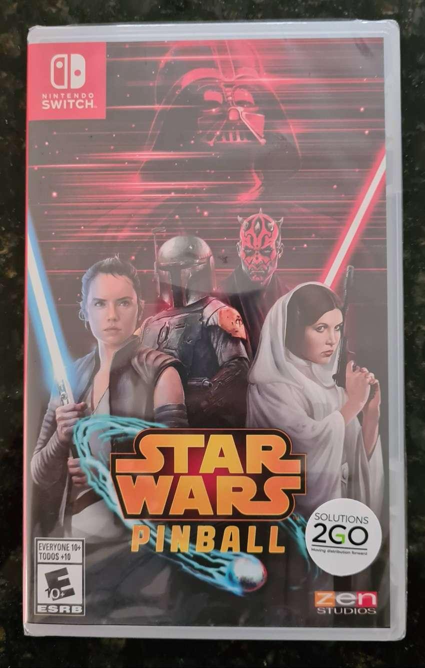 Nuevo Star Wars Pinball Nintendo Switch 0