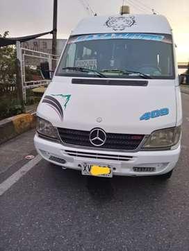 Vendo buseta sprinter  413 tipo intermunicipal  ruta bucaramanga cucuta