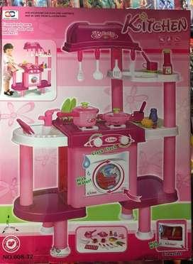 Cocinas para Niñas con Lavadora