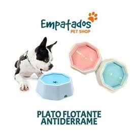 PLATO FLOTANTE ANTIDERRAME