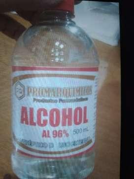 Alcohol al 96 frasco por 500 ML