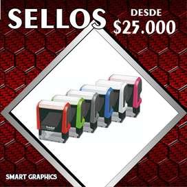 SELLOS AUTOMATICOS DEL BOLSILLO SECOS LITOGRAFIA PUBLICIDAD PALMIRA CALI SMART GRAPHICS DISEÑO GRAFICO