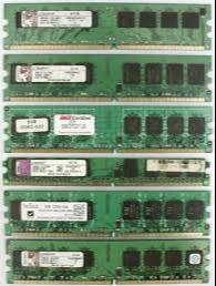 memorias ram ddr2 de 1gb 667 800