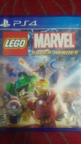 Lego marvel super héroes ps4