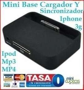 Cq Cargador De Base Iphone 4 Ipod Nano Touch Mp4