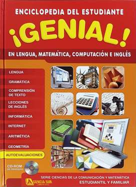 Enciclopedia del Estudiante GENIAL en Lengua, Matemática, Computación e Inglés