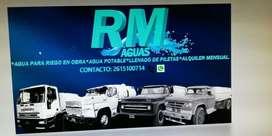 Agua Potable Viajes Camion Regador