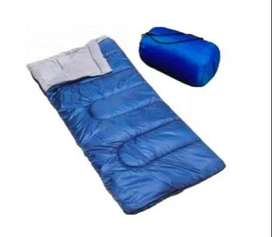 Sleeping Bag 10° 2 En 1 Bolsa De Dormir 1 Persona Camping