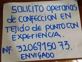 Solicitud Operarias Al Contrato ,