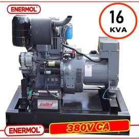 Grupo electrogeno diesel, Motor DEUTZ-BEINEI Potencia máxima 16 kva