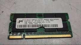 MEMORIAS RAM DDR2 PARA LAPTOP