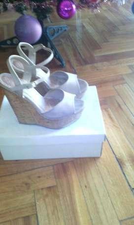 Sandalias de plataforma de corcho