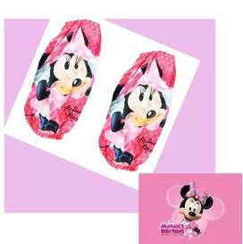 Minnie Mouse Mangas Para Delantal Niña Juguete Piñatas