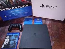 Vendo PS4 1 TB Como Nueva