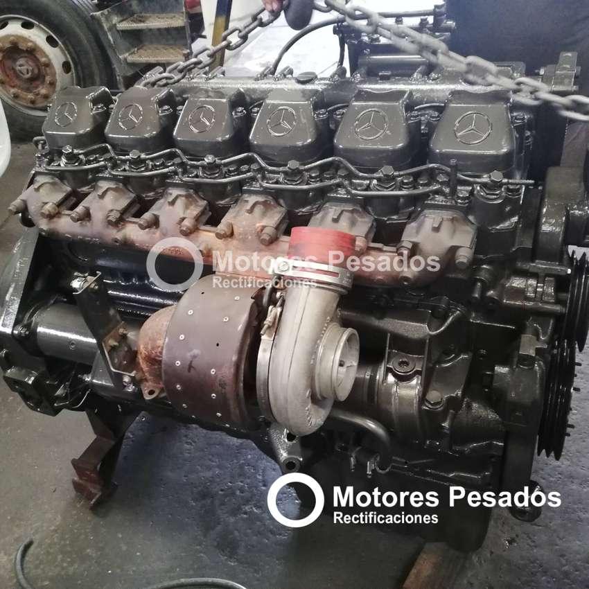 Motor Mercedes Benz 1938 / OM 447 6 cil. rectificado con garantía 0