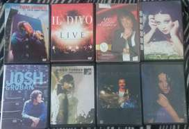 Lote dvds musicales melodicos