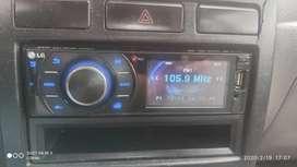 Audiocar LG con reproductor DVD en perfecto estado de funcionamiento