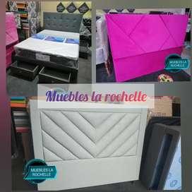 Base camas - cabeceros - colchones y colchonetas de punto de fabrica
