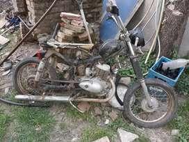 Moto antigua DKW