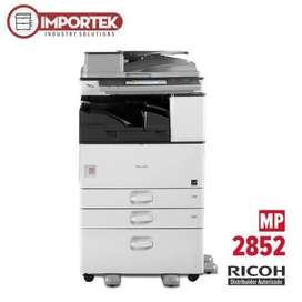 Fotocopiadora Laser Ricoh Aficio Mp 2852 Impresora Blanco y negro