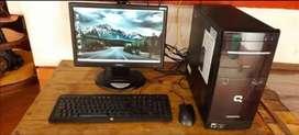 Computador de escritorio con cámara web 1080, micrófono y tarjeta de wifi