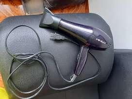 Secador de cabello como nuevo