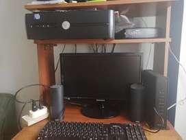 Computador Dell intel core 2 Dúo, monitor samsung