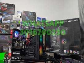 Pc gamer Intel core i5 6600 tarjeta de video rx 5500 xt 8gb gddr6