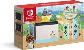 Nintendo Switch Edicion Animal Crossing