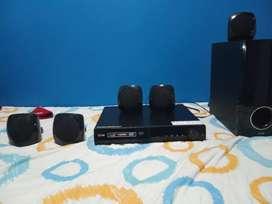 Sistema de teatro en casa reproductor de dvd
