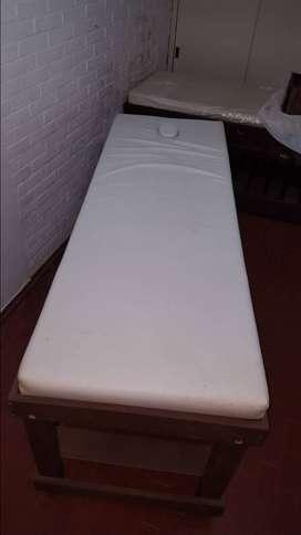 Camillas de masajes para gabinete estetico