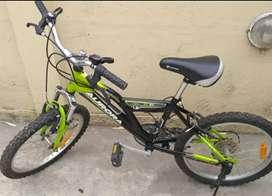 Bicicleta aurora DSX rodado 20 impecable