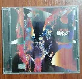 Slipknot CD iowa