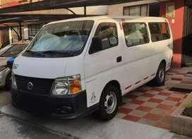 Microbús Nissan Urvan