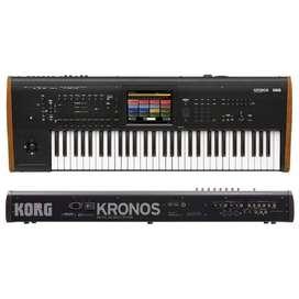 Sintetizador Korg Kronos2 61 Workstation Sampler Negro
