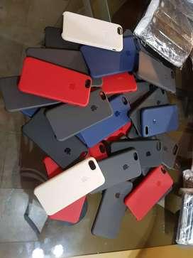 SILICON CASES FUNDAS APPLE IPHONE 7/8/SE 2020
