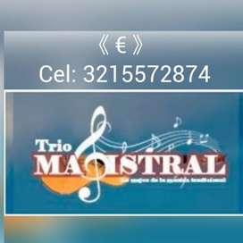 """¿3 musicos para su serenata?. trio """" MAGISTRAL """""""