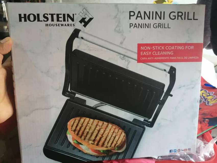 Panini Grill marca Holteins 0
