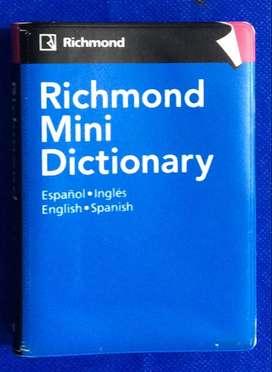 Richmond Mini Dictionary Español-Inglés, English-Spanish