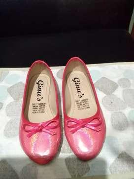 Zapatos rosa para niña casi nuevos 32