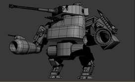 Diseño 3D para videojuegos, animación o Impresión 3D