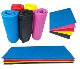 Colchonetas Enrollable para Ejercicios Varios Colores