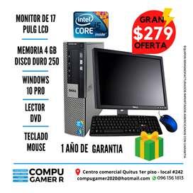 COMPUTADORA COMPLETA CORE I5 DE OFERTA $279 ...ESTAMOS EN QUITO VISITA NUESTRO LOCAL !
