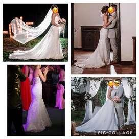 Vestido de Novia 2 en 1 y obsequio