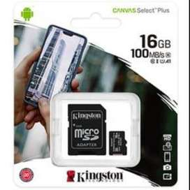 MICRO  SDCS2  /  16GB  100MB / s  KINGSTON