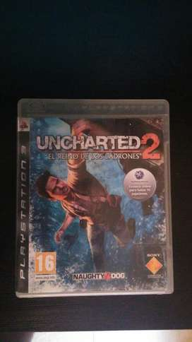 Uncharted 2 Español  PS3 Play 3 Excelente Estado Vendo O Cambio