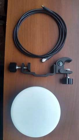 Antena trimble con accesorios