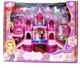 Castillo grande de muñecas